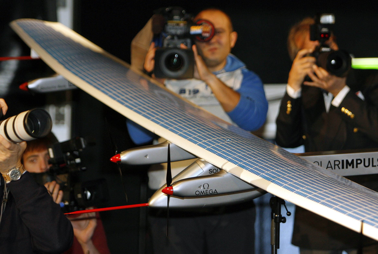 SOLARIMPULSE, FLUGZEUG, SOLAR IMPULSE,