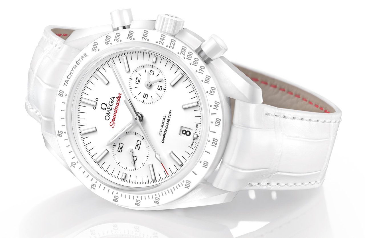 Omega Speedmaster White Side Moon