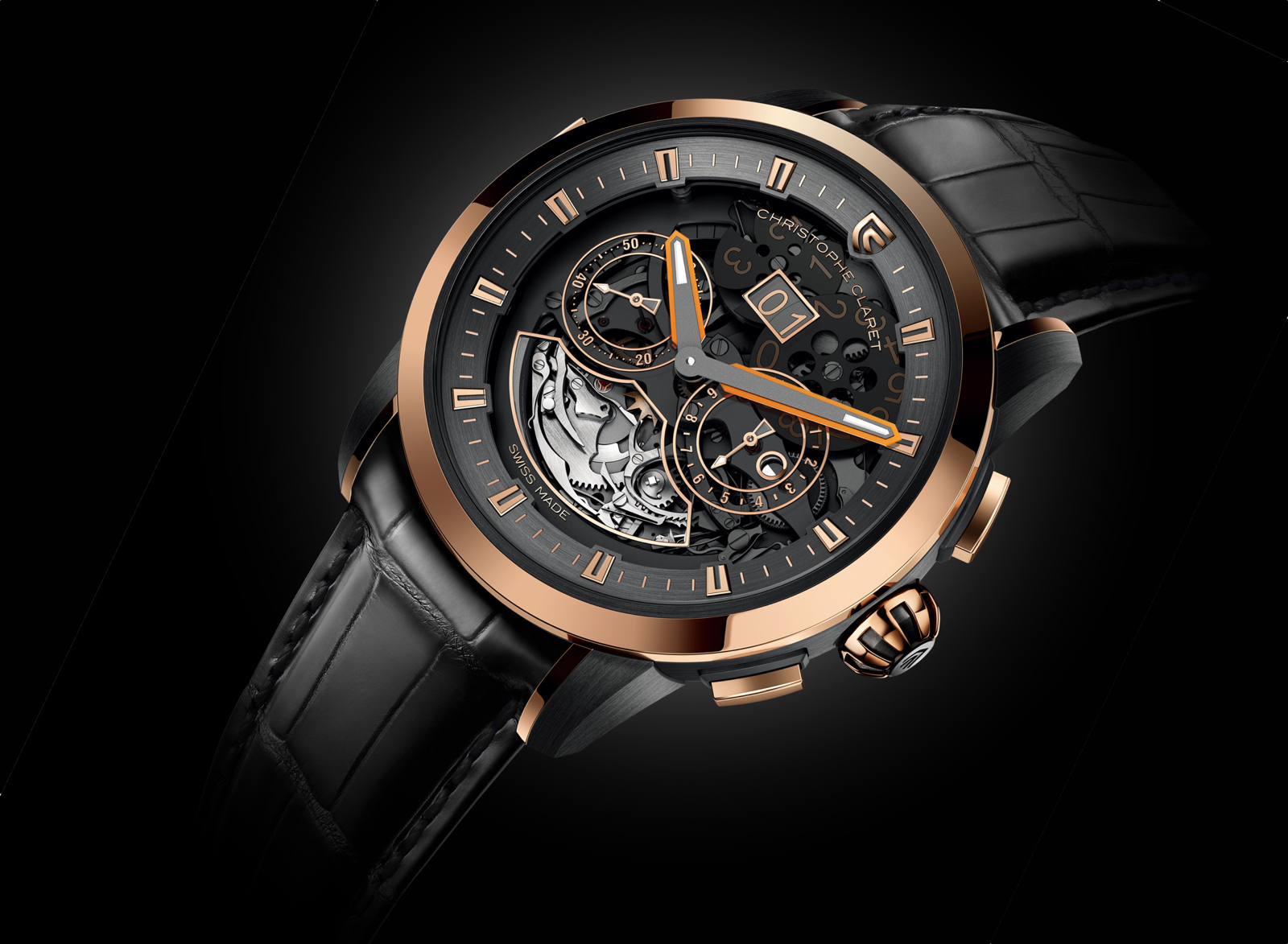 Allegro Christophe Claret red gold 1