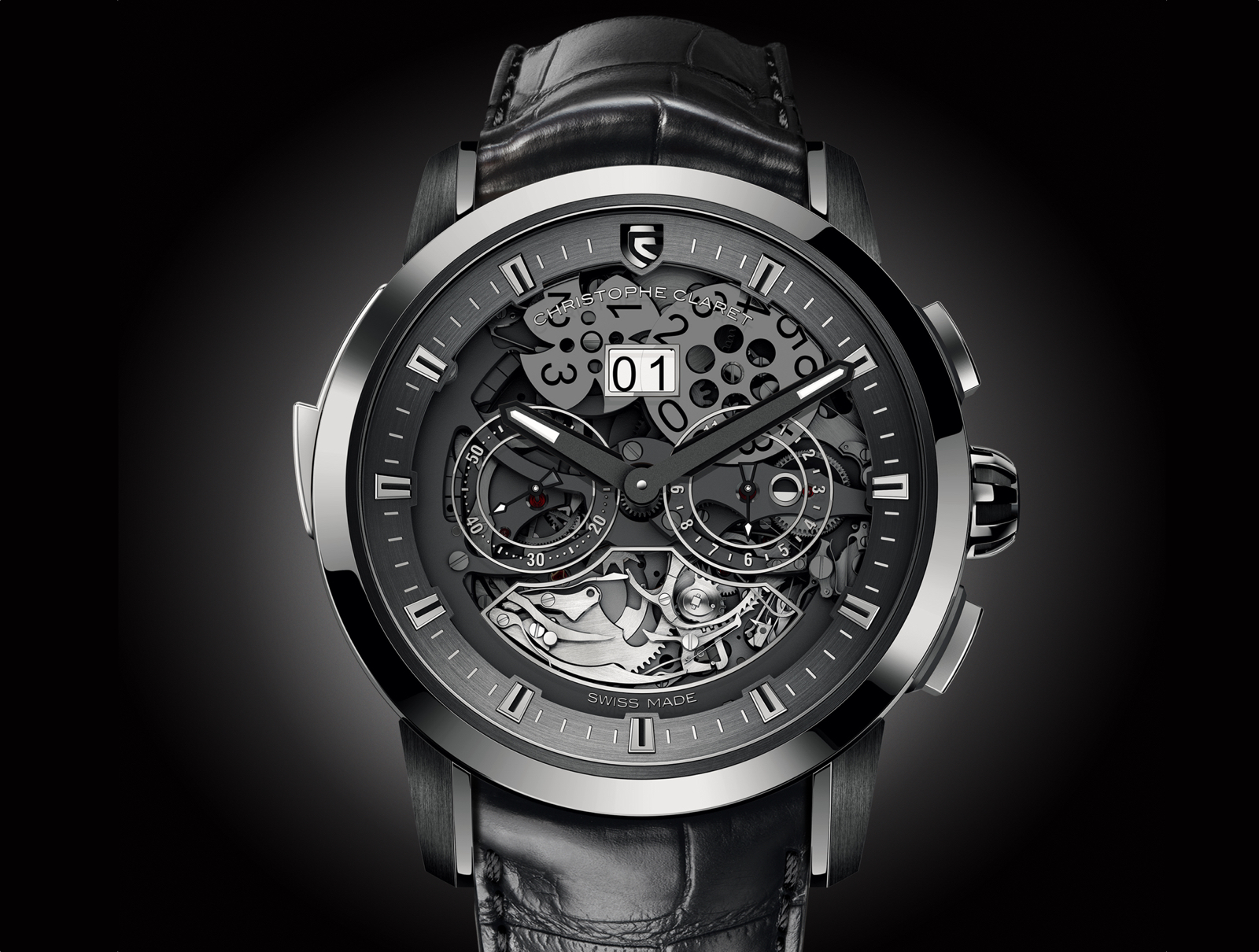 Allegro Christophe Claret white gold 2