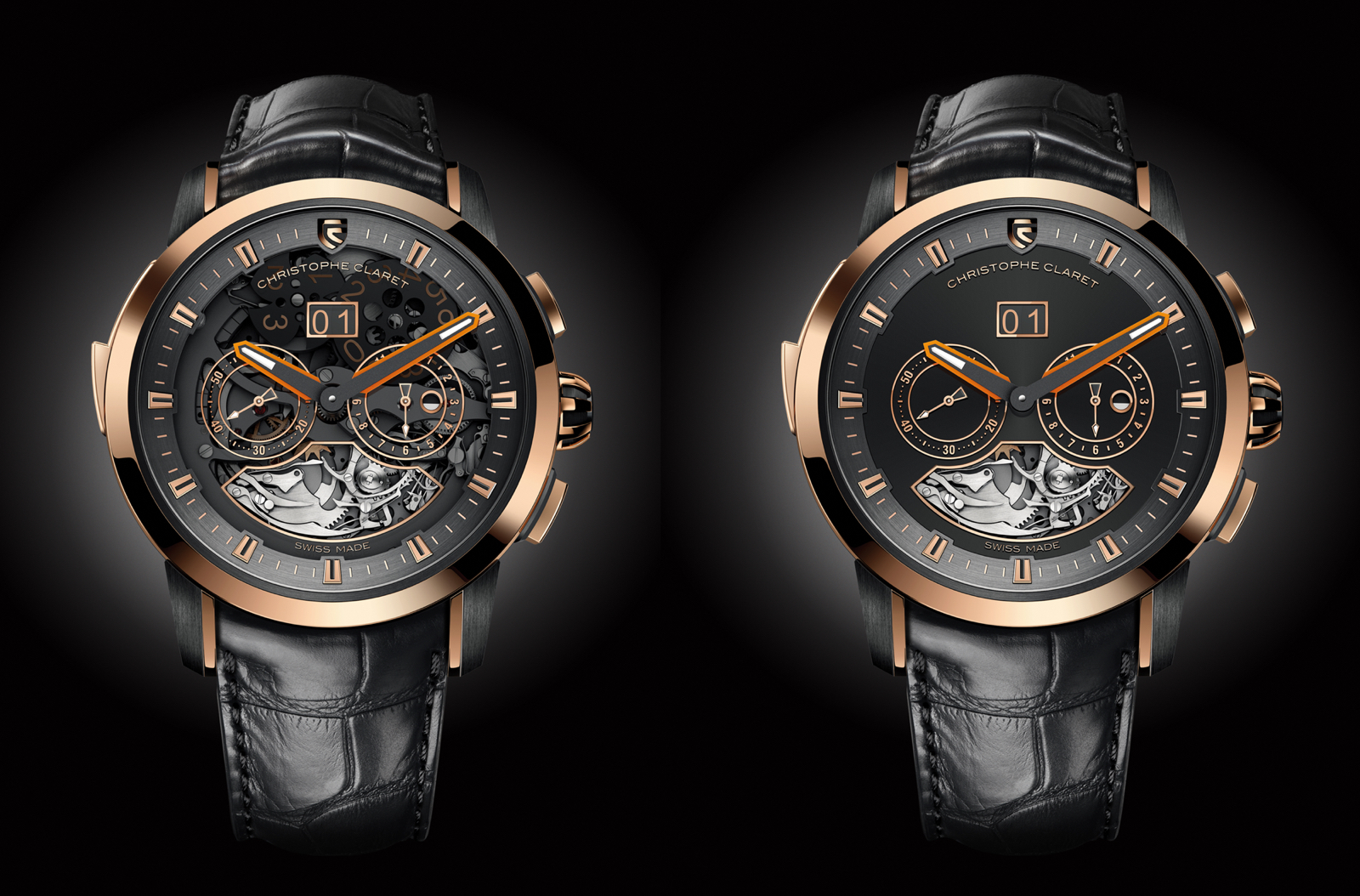 Allegro Christophe Claret red gold 2