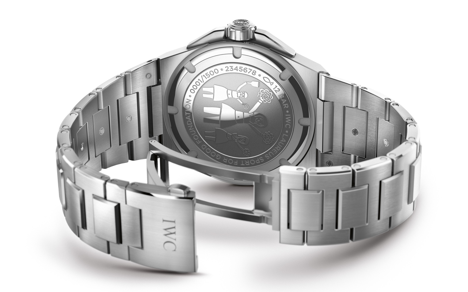 IWC Ingenieur Automatic Laureus Back