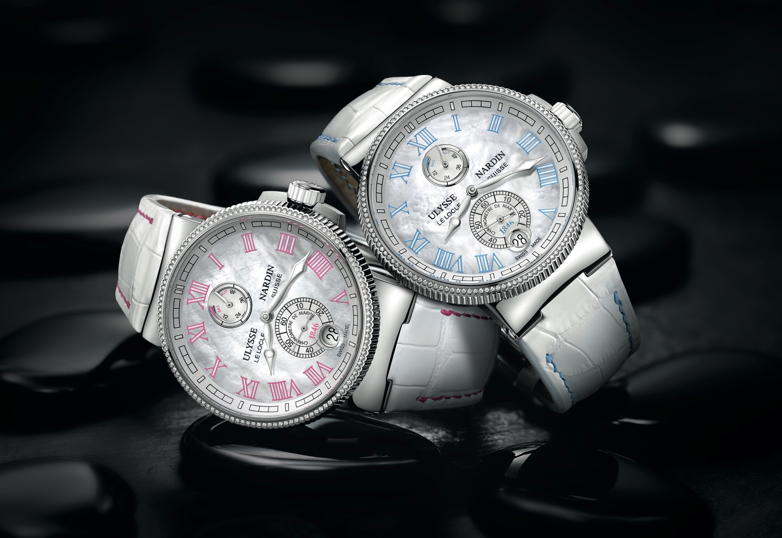 ULYSSE NARDIN Marine Chronometer Manufacture Ladies