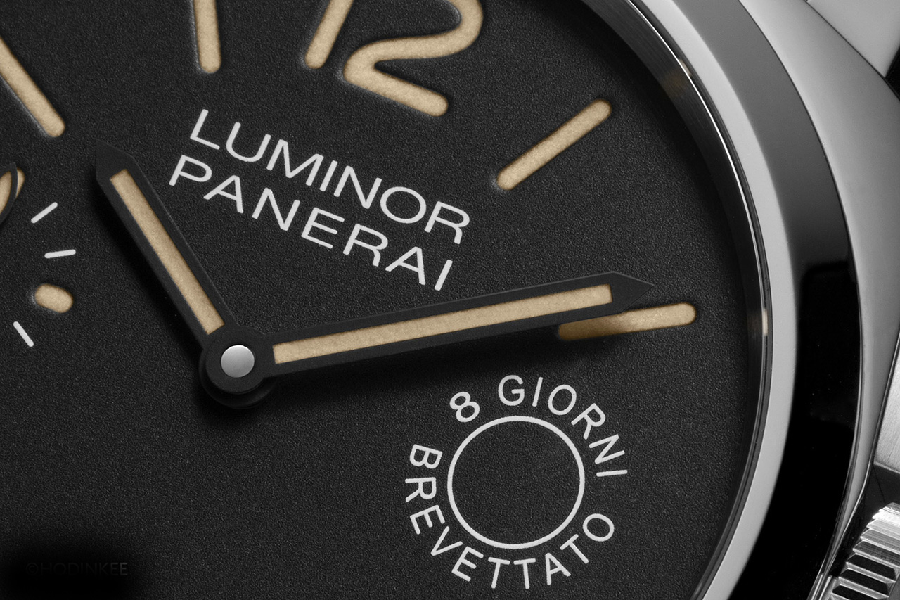 Panerai Luminor Marina 8 Days PAM590 esfera 2