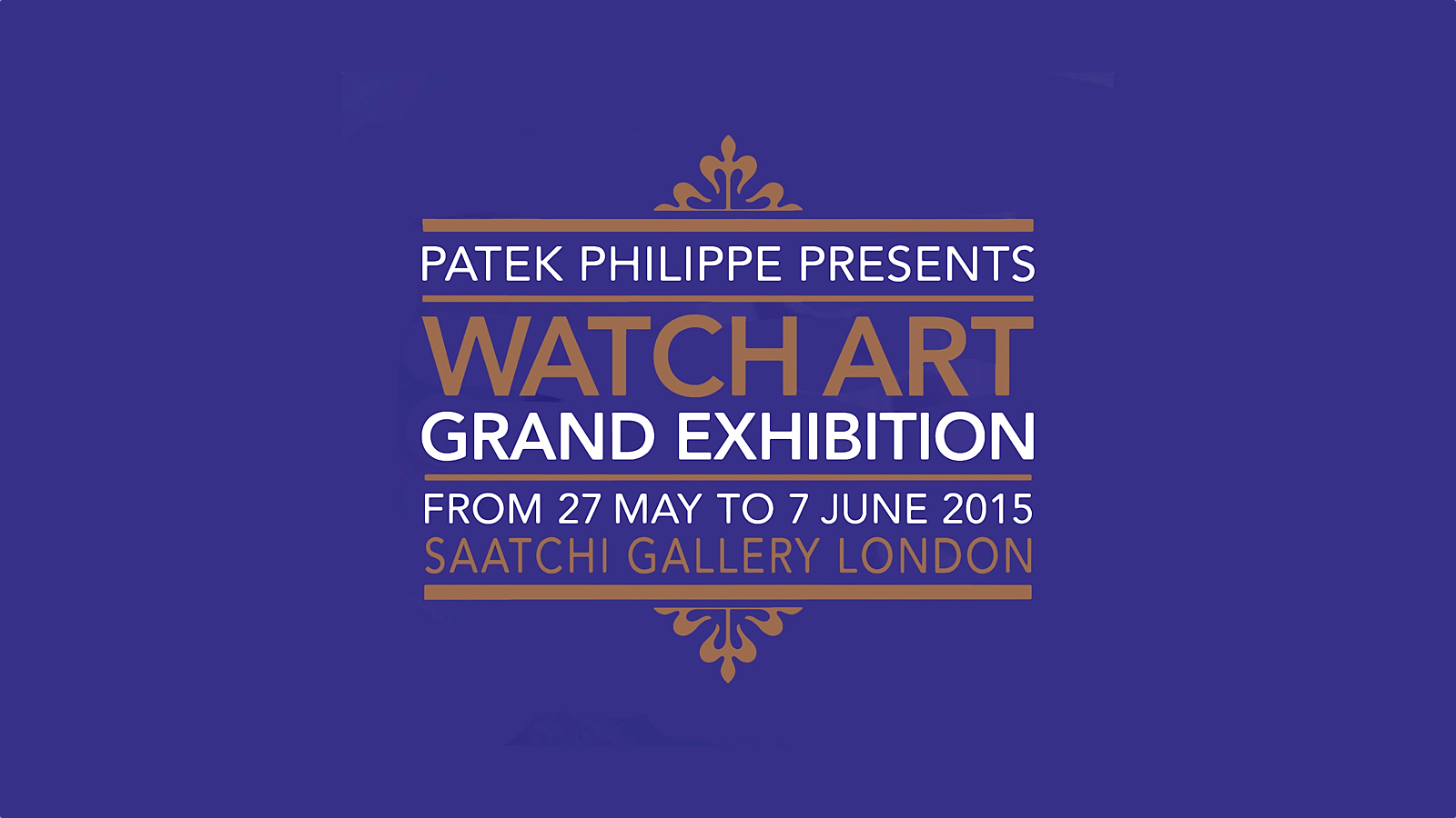 Patek Philippe Watch Art Grand Exhibition London-