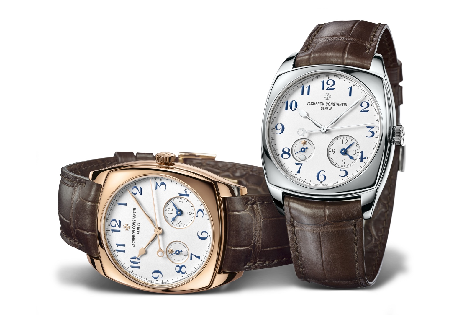Vacheron Harmony Dual Time duo
