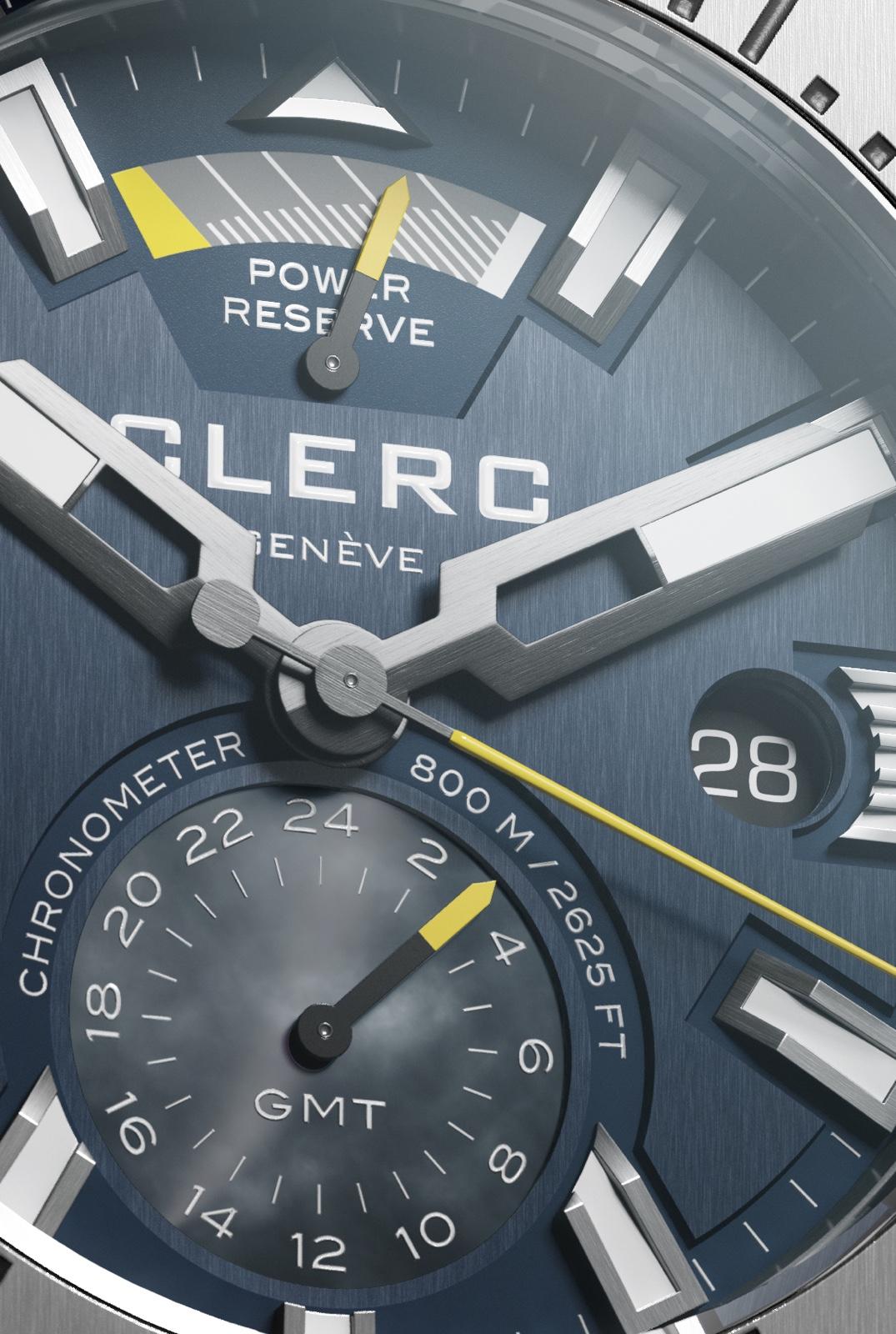 Clerc-Hydroscaph-GMT-Dial
