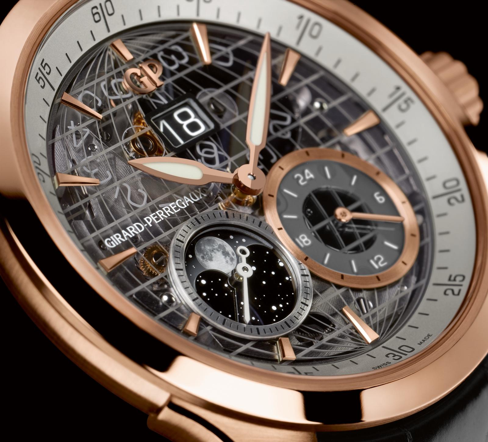 Girard-Perregaux Traveller GMT Detalle