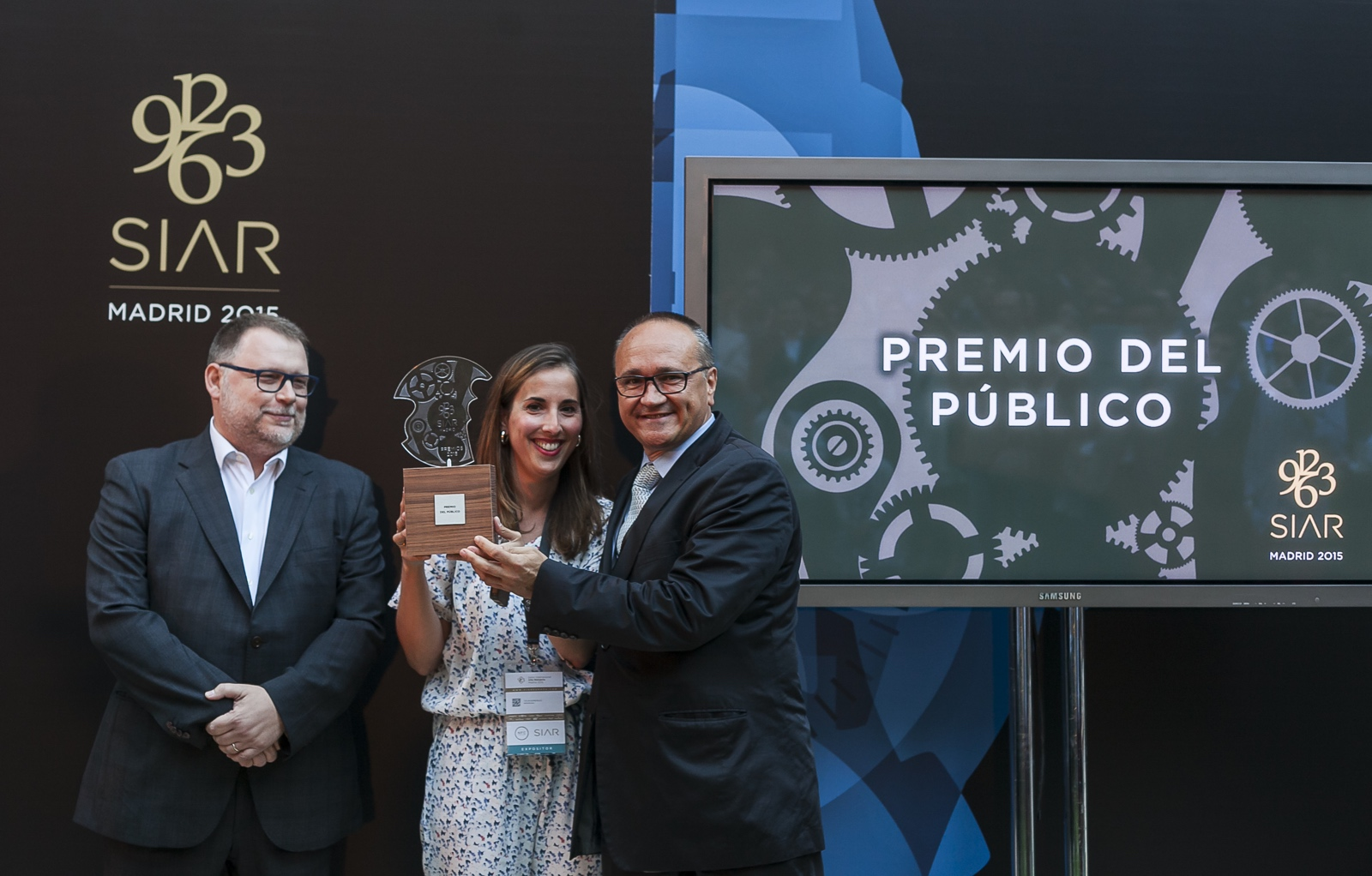 SIAR 2015 premio del público para montblanc