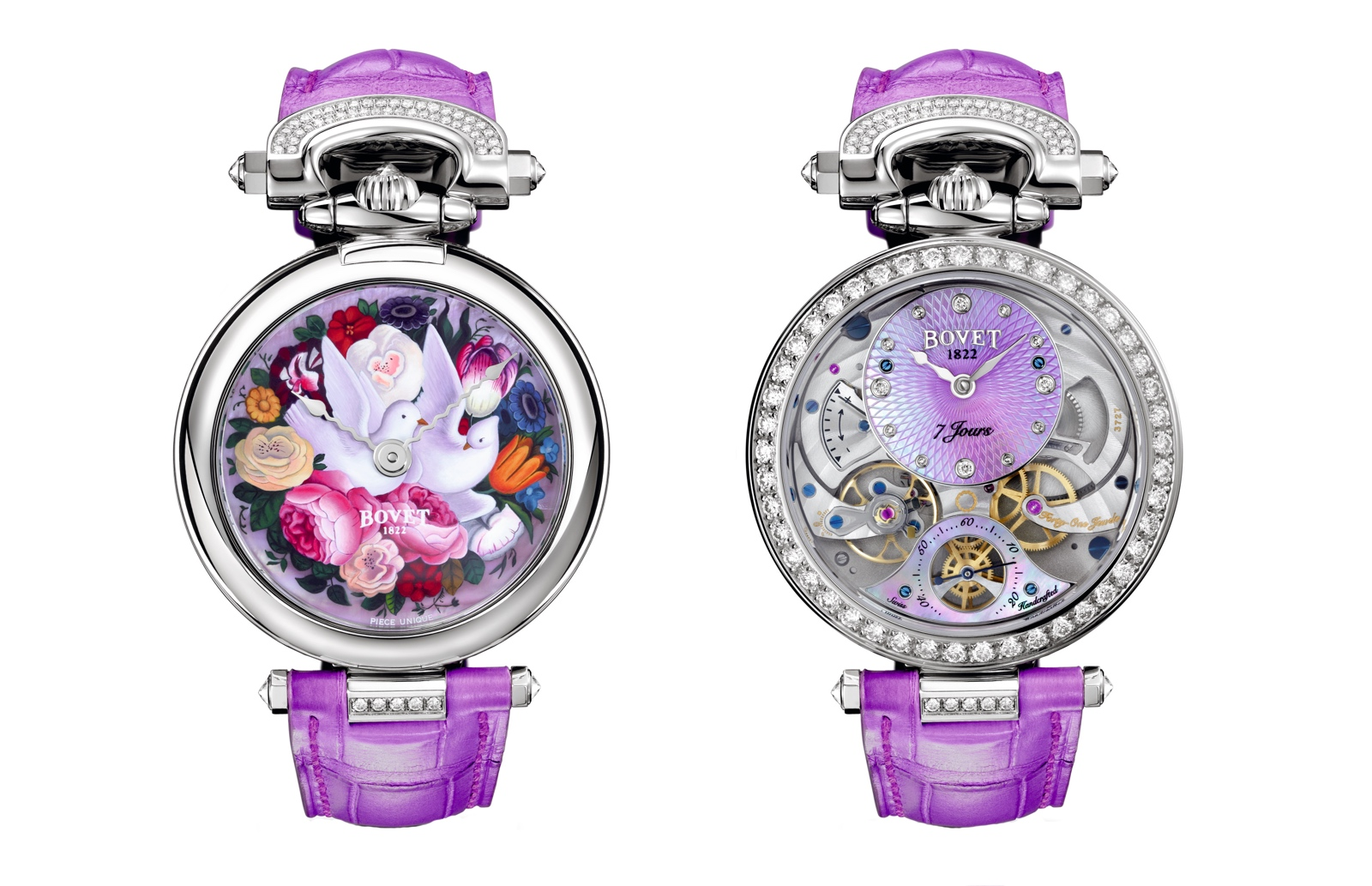 BOVET Lady Bovet Only Watch 2015 duo