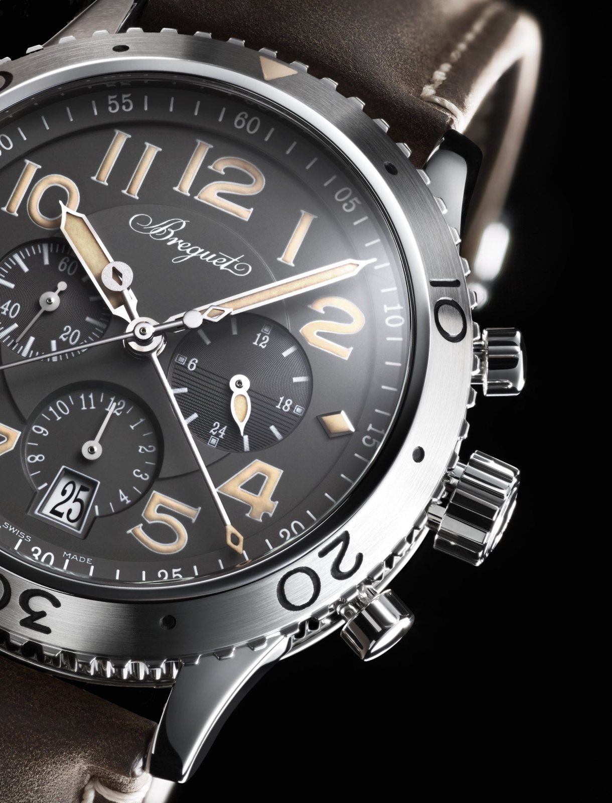 Breguet Type XXI Only Watch 2015 dial