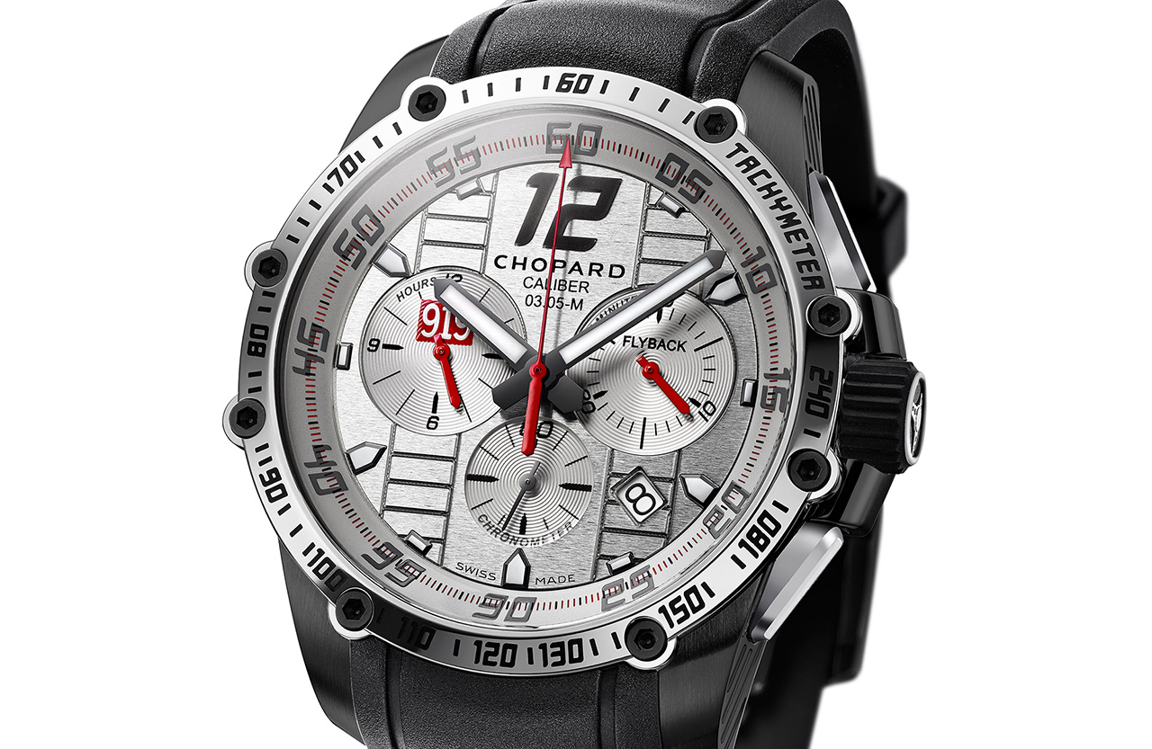 Chopard Superfast Chrono Porsche 919 Only Watch 2015 esfera