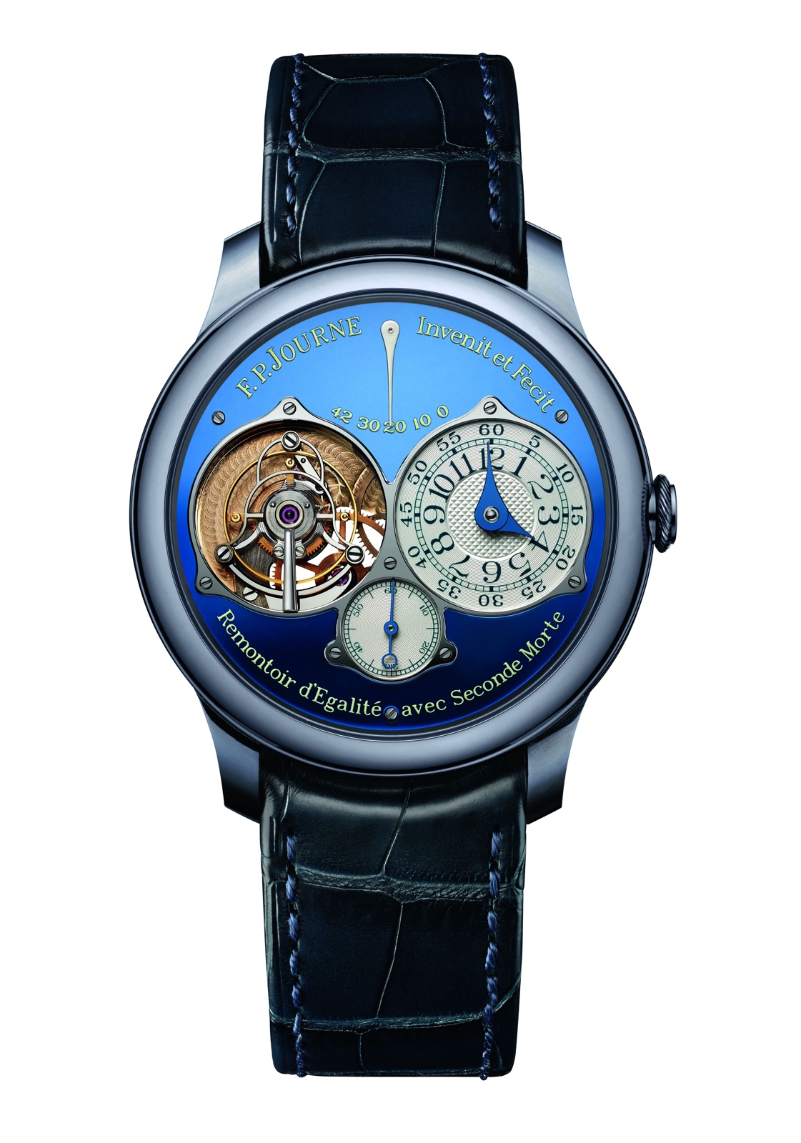 F.P. Journe Tourbillon Souverain Only Watch 2015 front