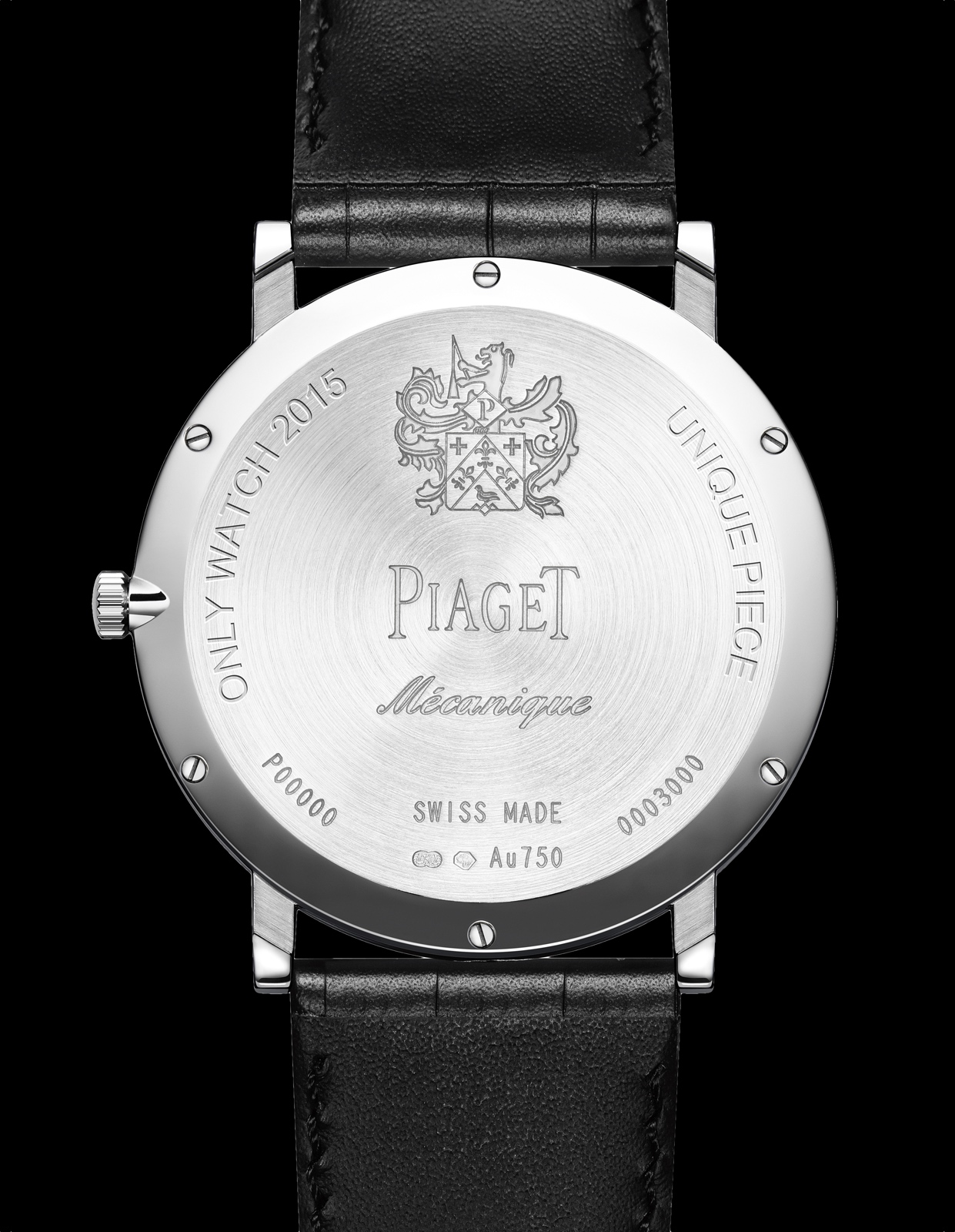 Piaget Altiplano Only Watch 2015 back