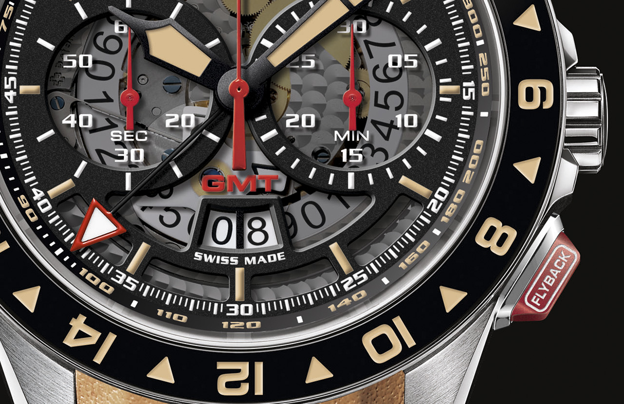 Graham Silverstone RS GMT esfera crop