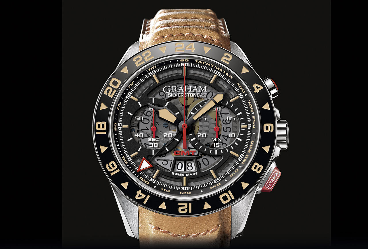 Graham Silverstone RS GMT esfera