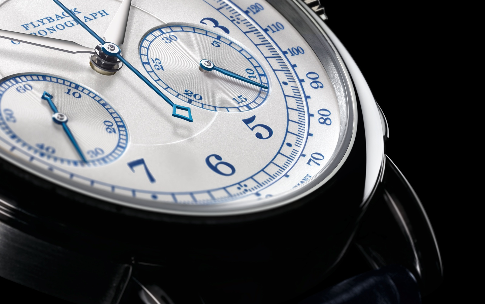 A. Lange & Söhne 1815 Chronograph boutique detail