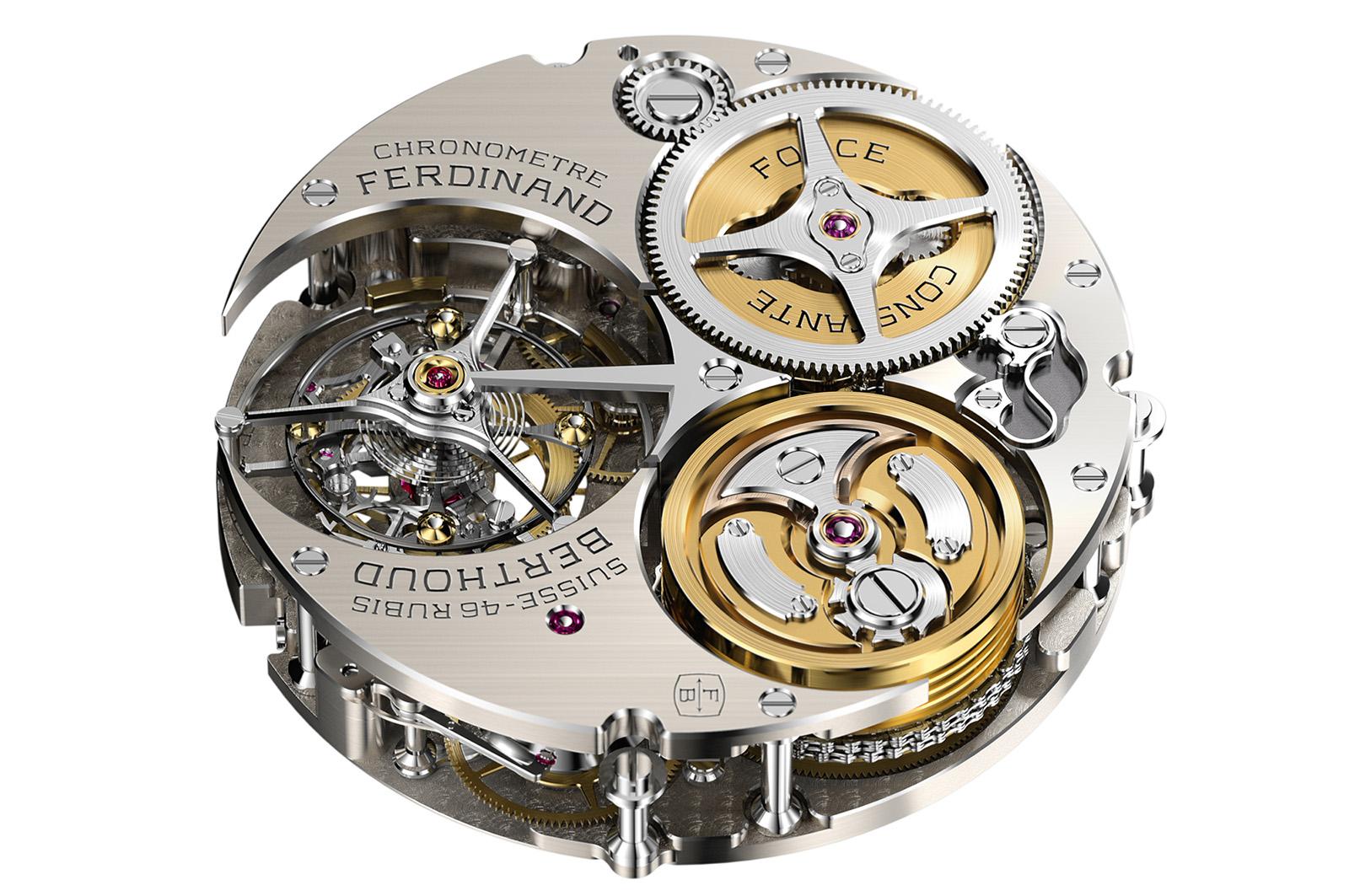Chronomètre FERDINAND BERTHOUD FB 1 calibre