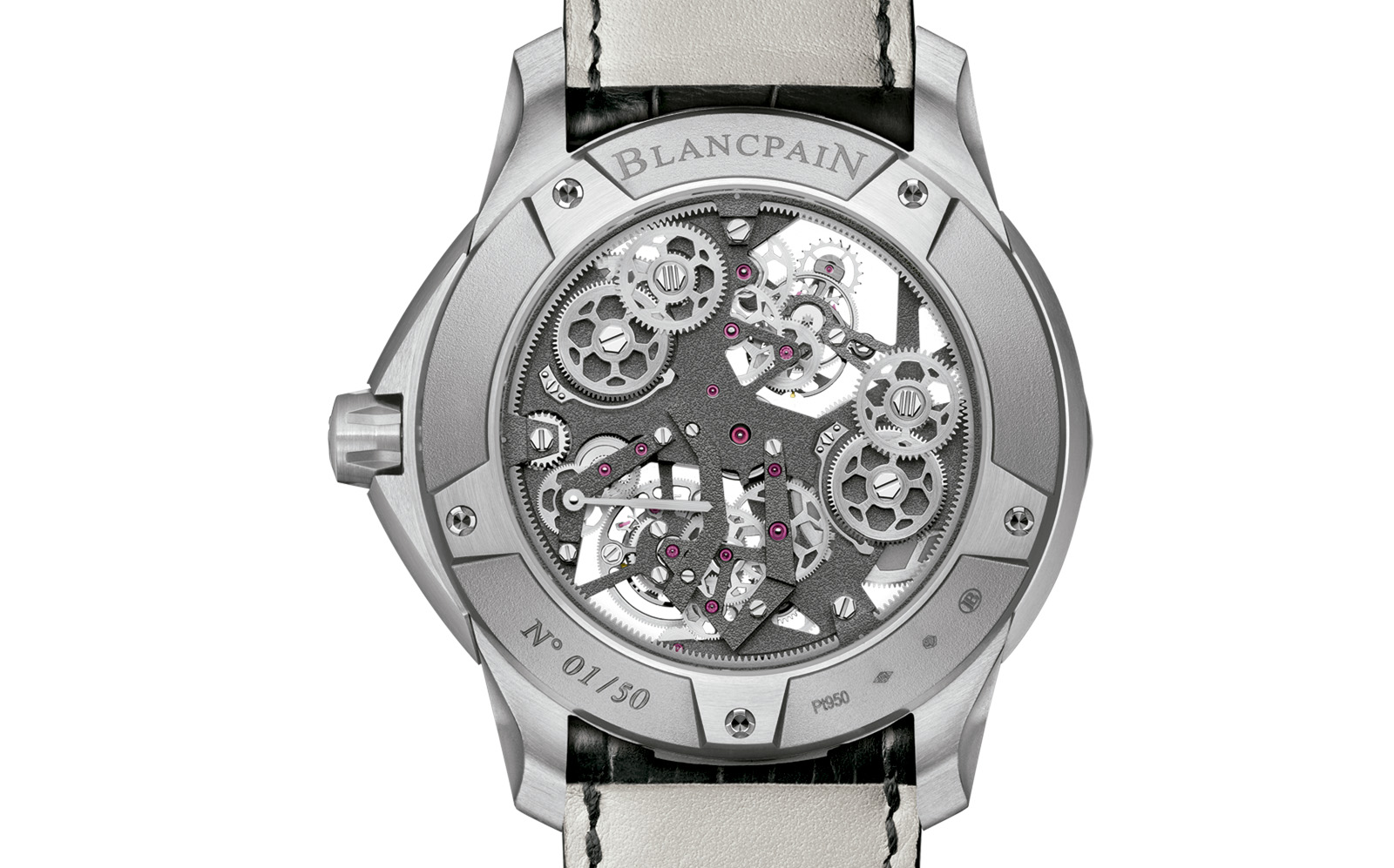 Blancpain L-Evolution Tourbillon Carrousel trasera