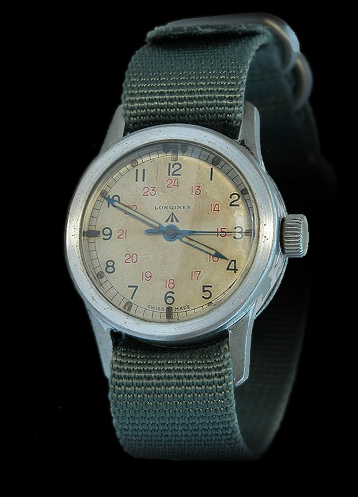 Longines heritage military COSD original