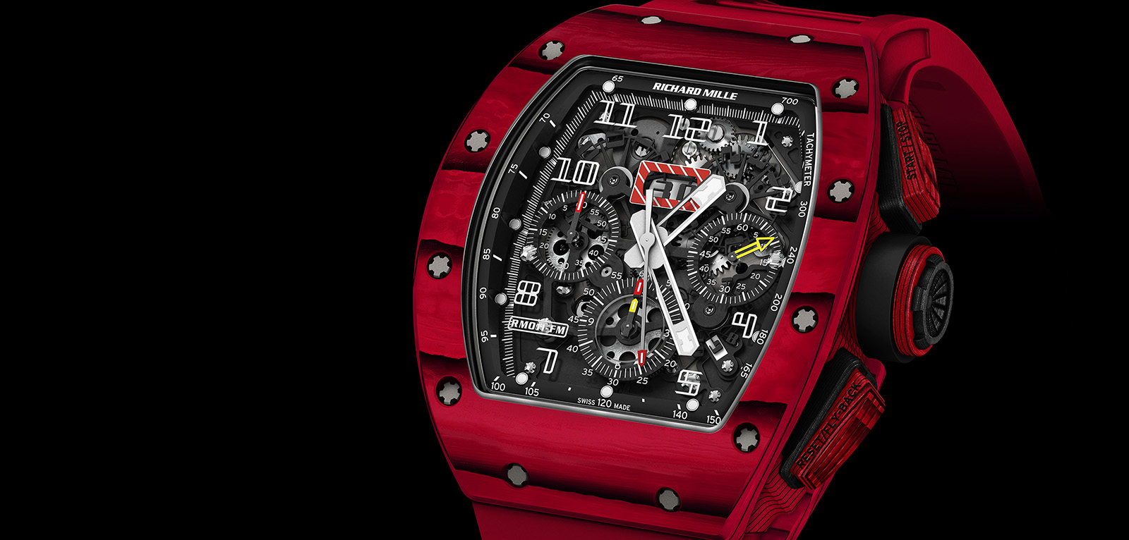 Richard Mille RM 011 Quartz TPT Red portada