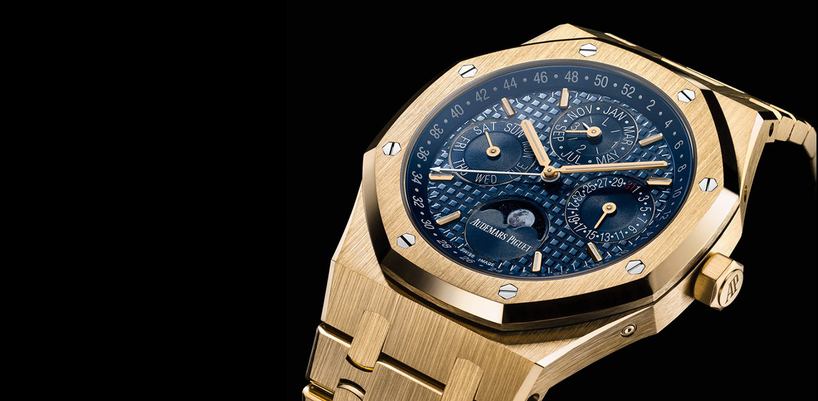 Audemars Piguet Royal Oak Perpetual Calendar Yellow Gold portada