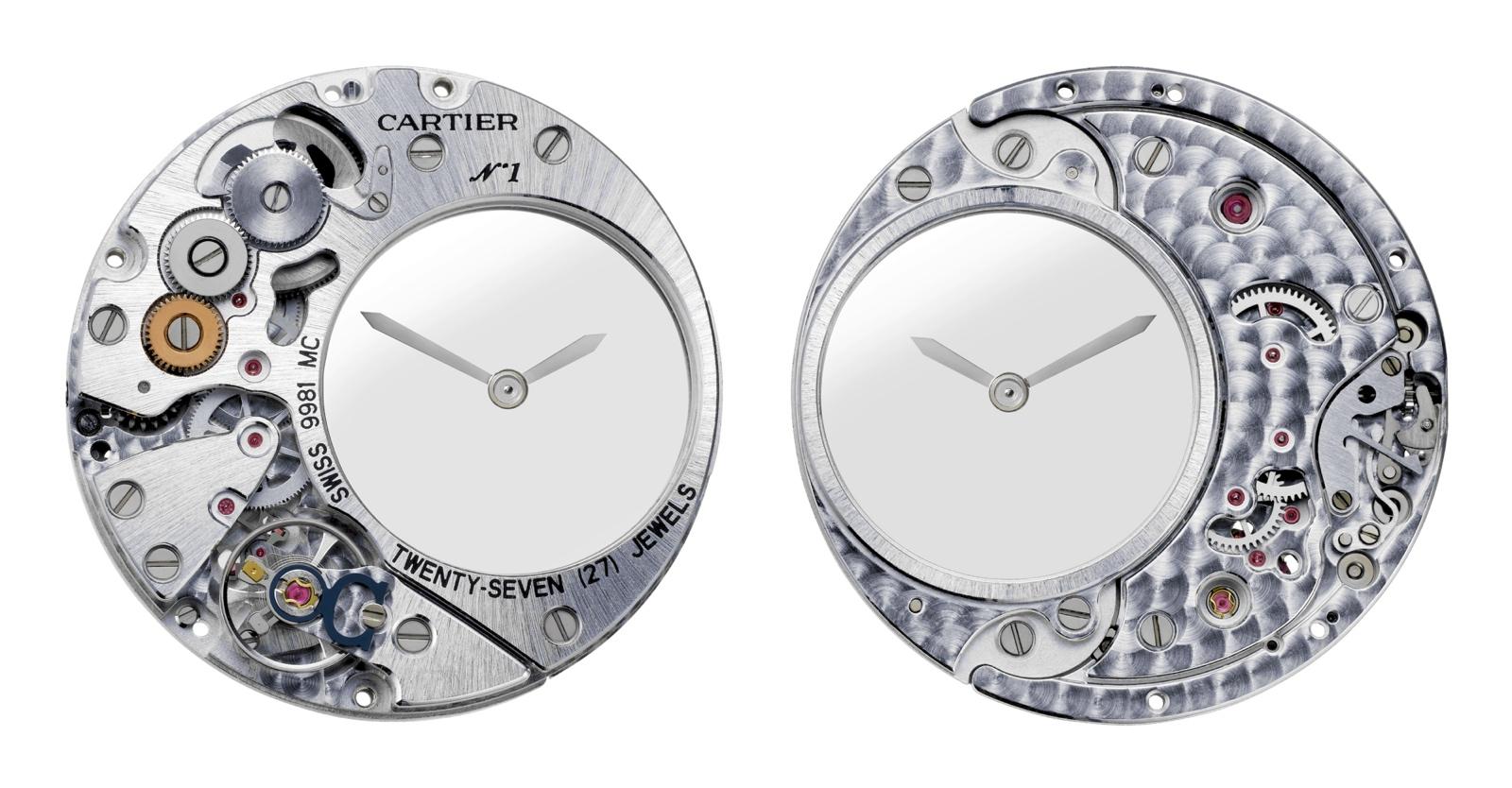 Clé de Cartier Mysterious Hour - calibre 9981 MC