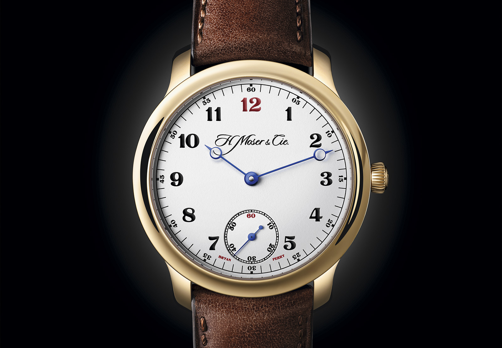 Moser Endeavour Small Seconds «Bryan Ferry» 1