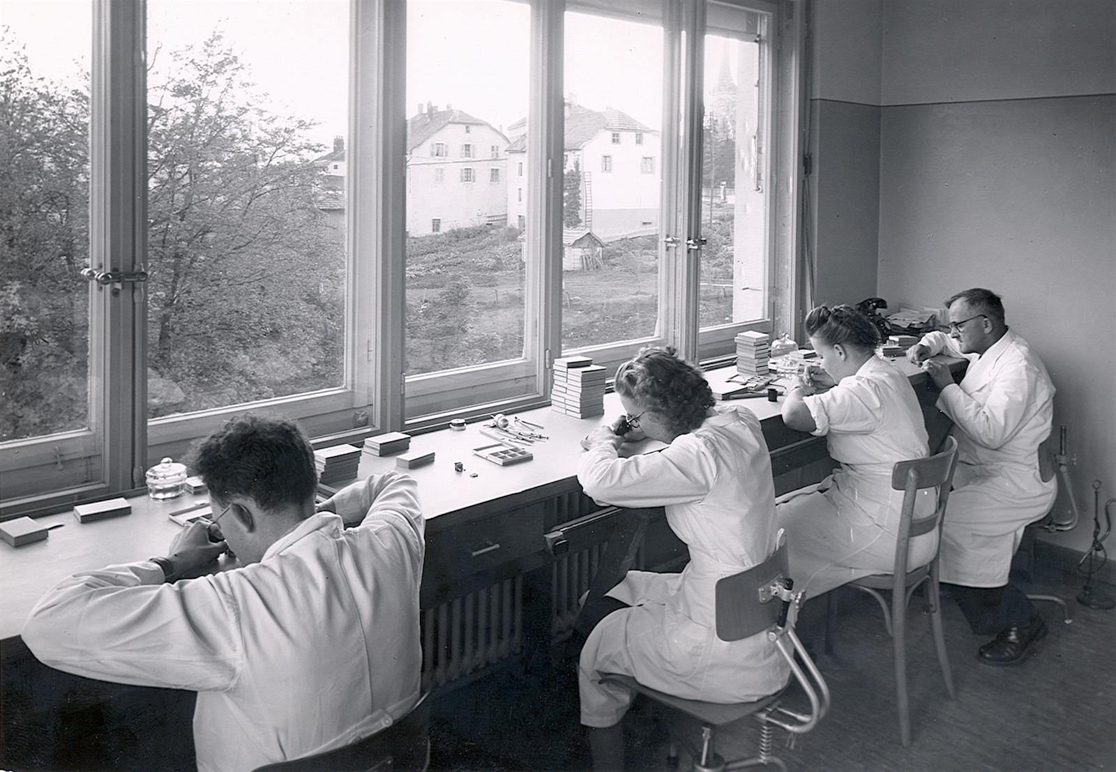 Piaget Manufacture La Côte-aux-Fées 1950