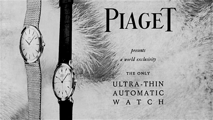 Publicidad Piaget automático