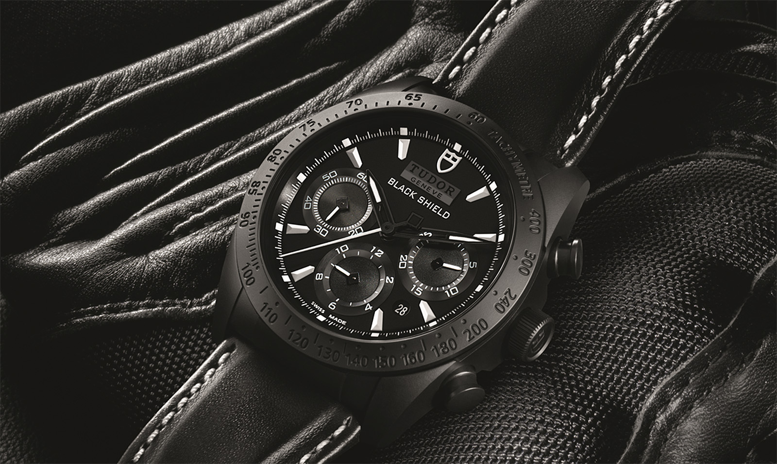 Tudor Fastrider Black Shield Chronograph 1