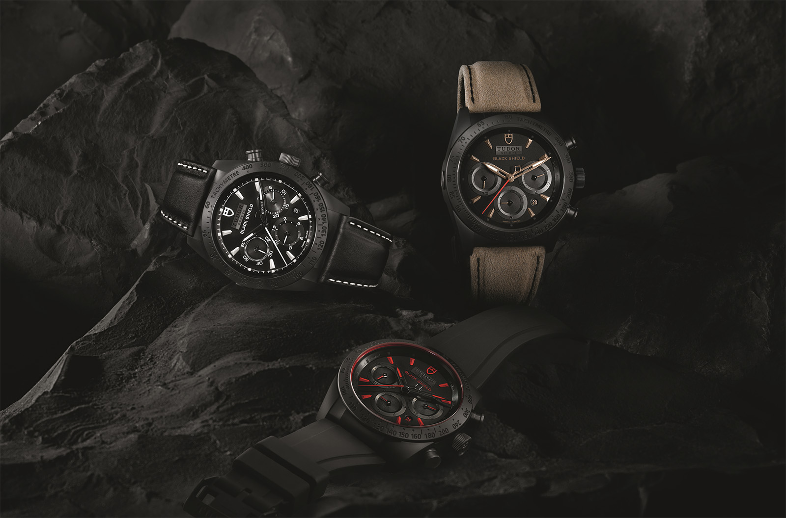 Tudor Fastrider Black Shield Chronograph family