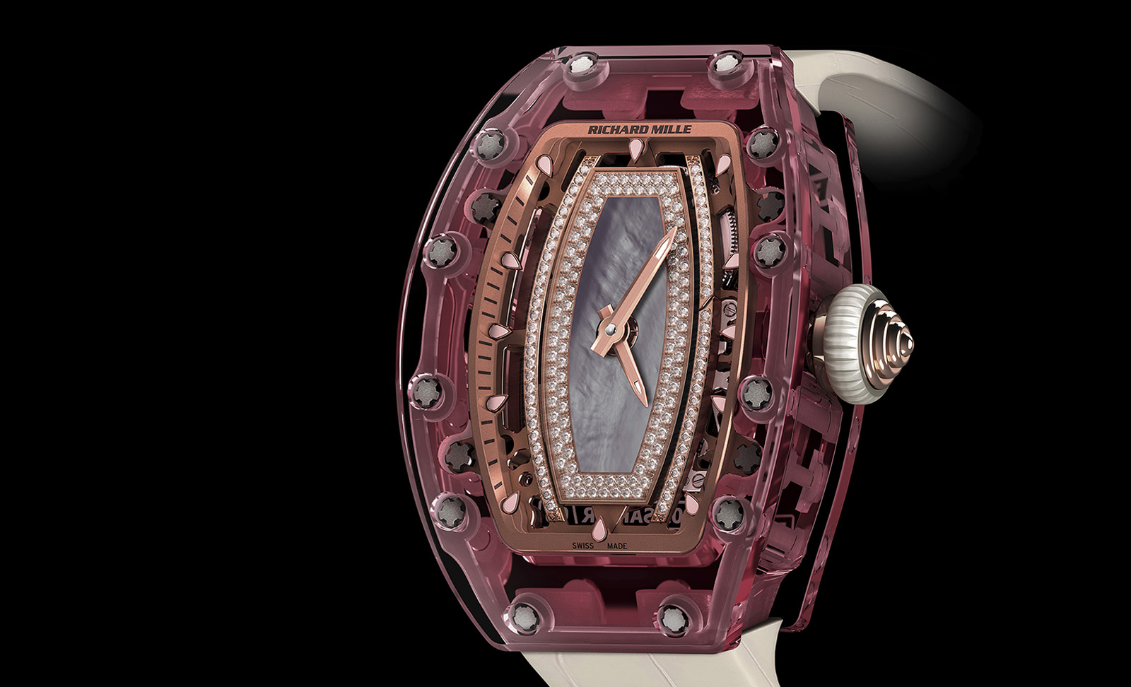 Richard Mille RM 07-02 Pink Lady Sapphire