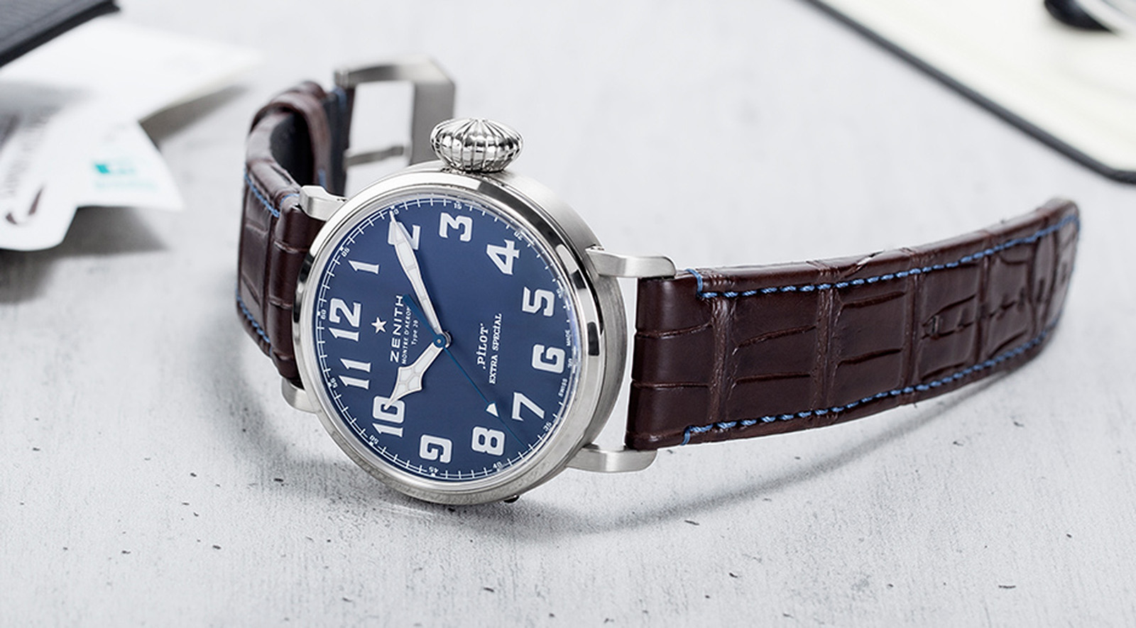 Zenith Pilot Type 20 Extra Special Blue 1