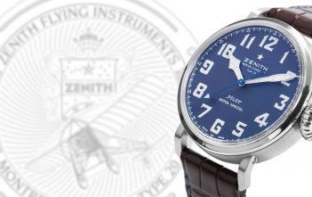Zenith Pilot Type 20 Extra Special Blue portada