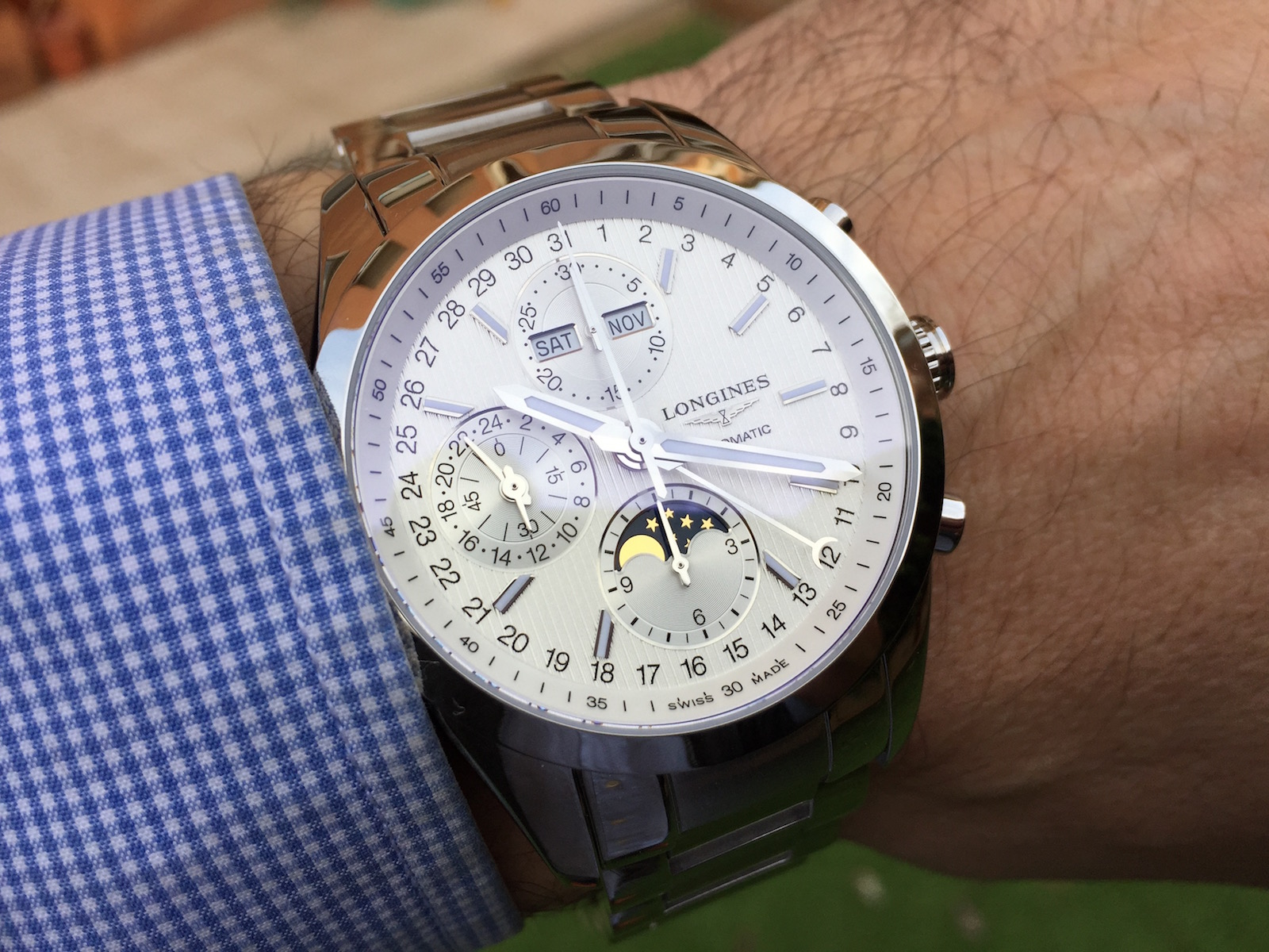 Longines Conquest Classic Moonphase 8