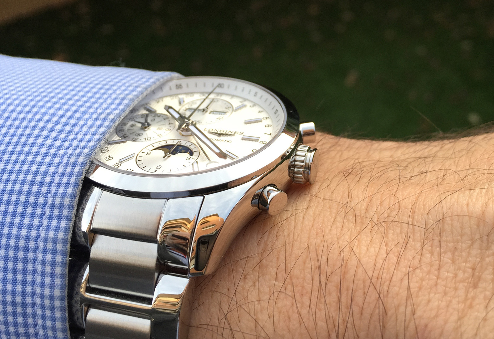 Longines Conquest Classic Moonphase 25