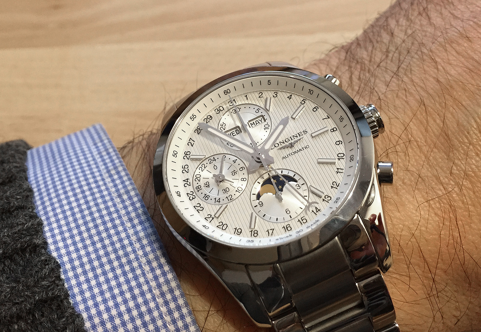 Longines Conquest Classic Moonphase 19