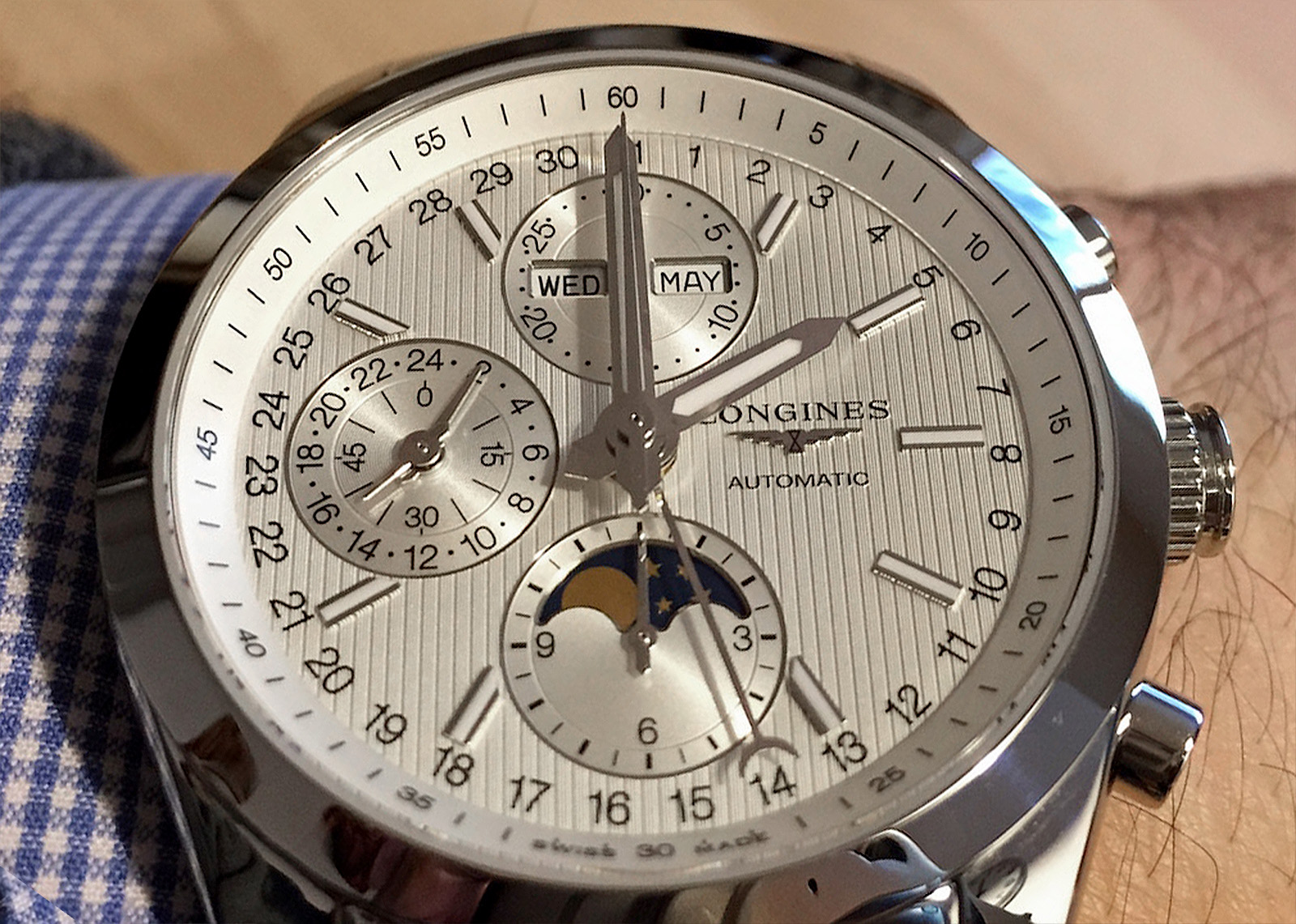 Longines Conquest Classic Moonphase 20