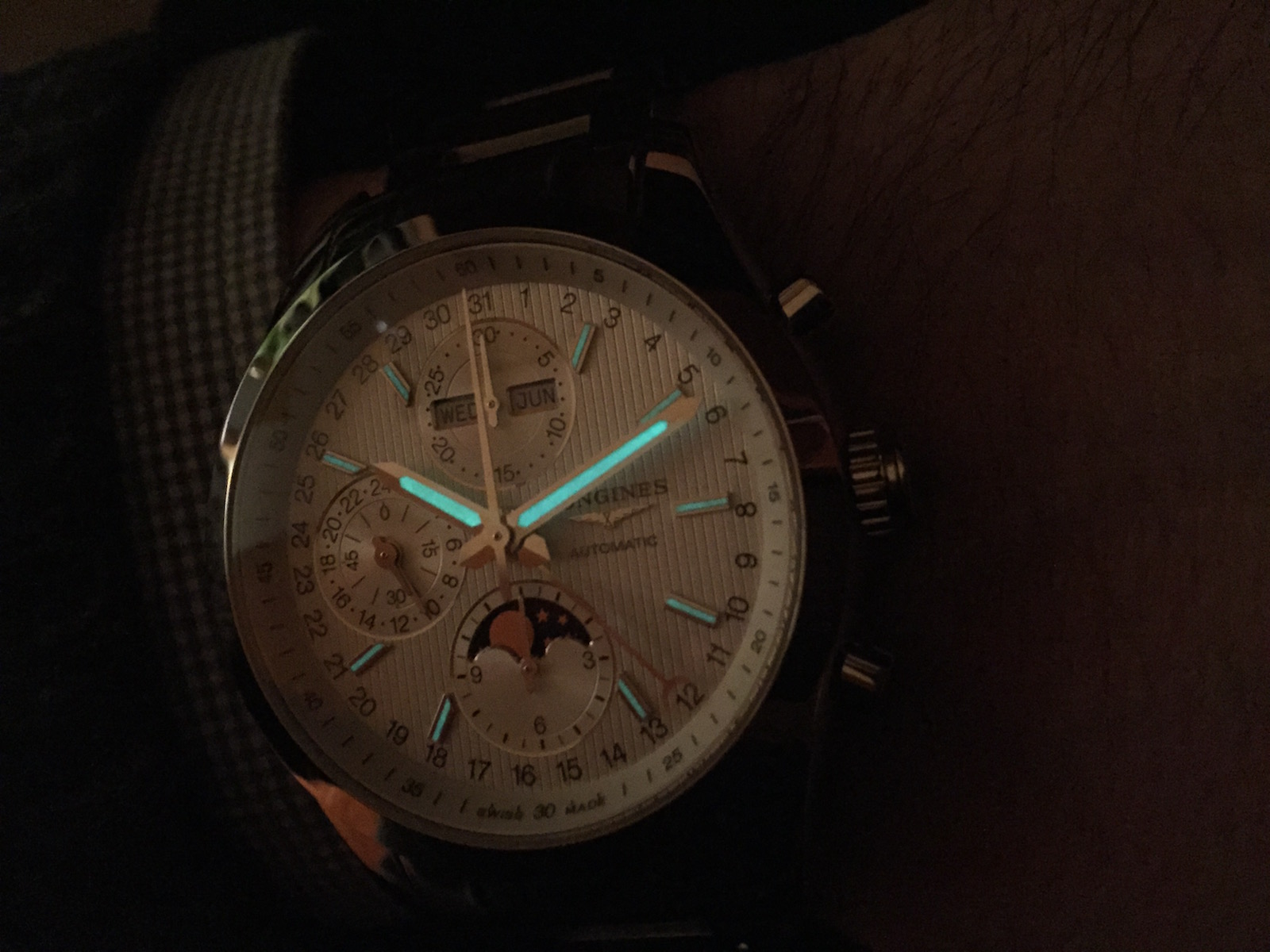 Longines Conquest Classic Moonphase 22