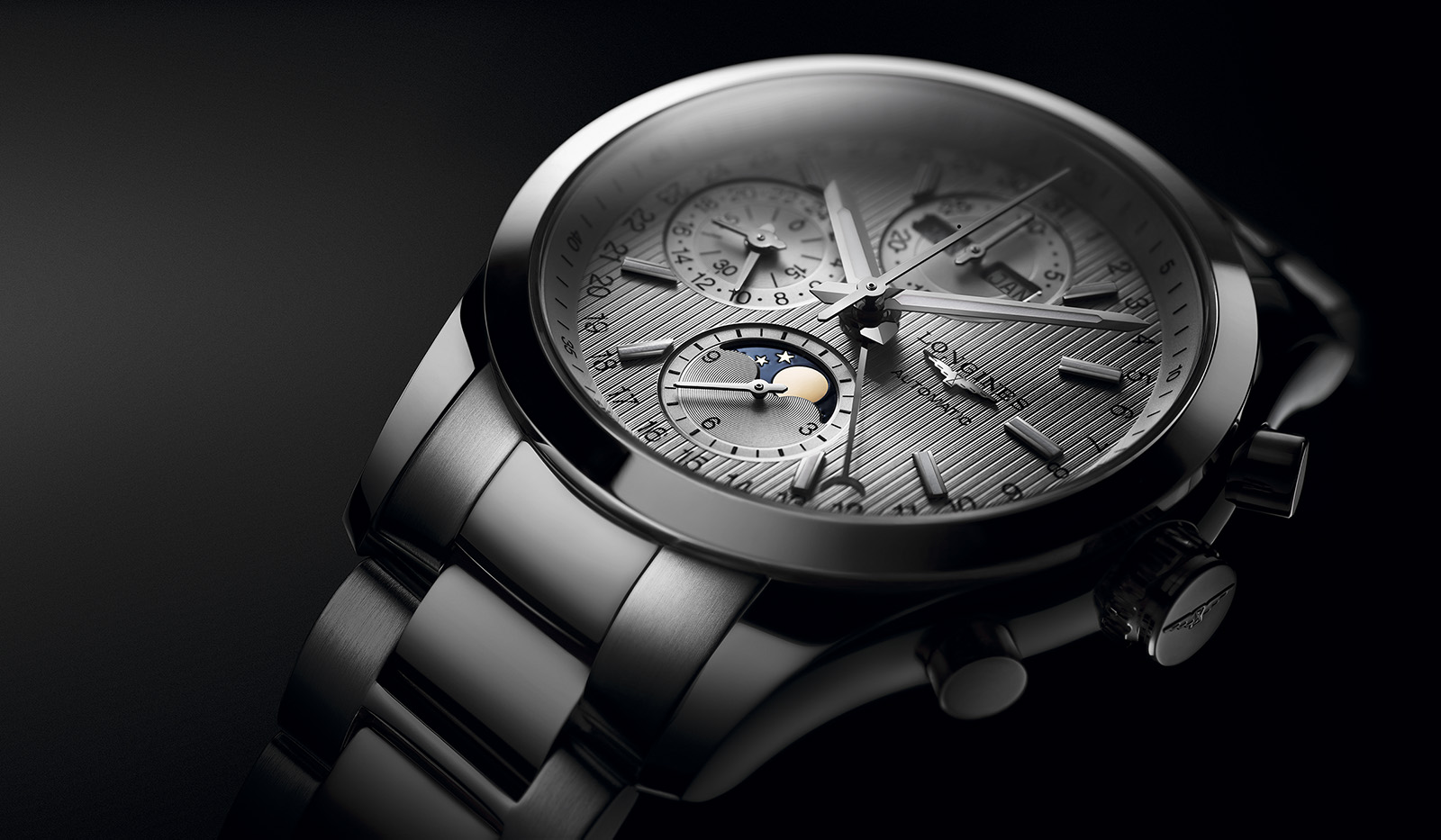 Longines Conquest Classic Moonphase 33