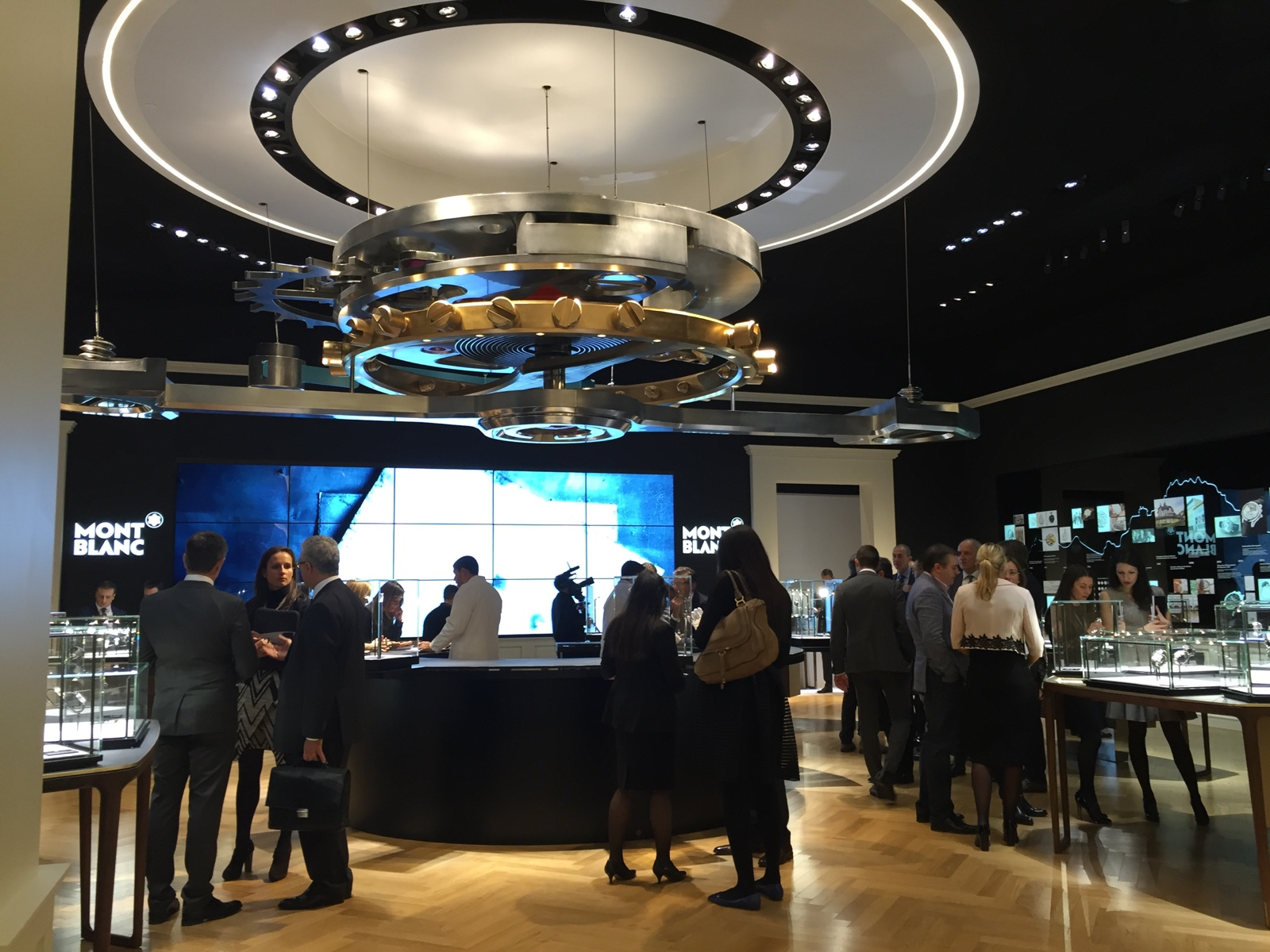 Montblanc Booth SIHH 2016