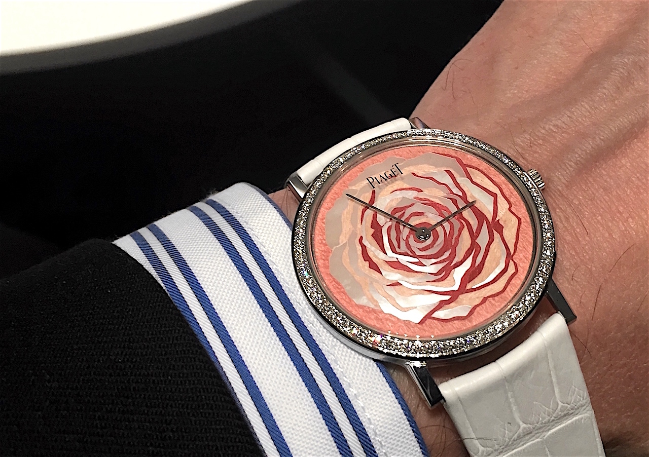 Piaget SIHH 2016 - Art & Excellence marqueteria