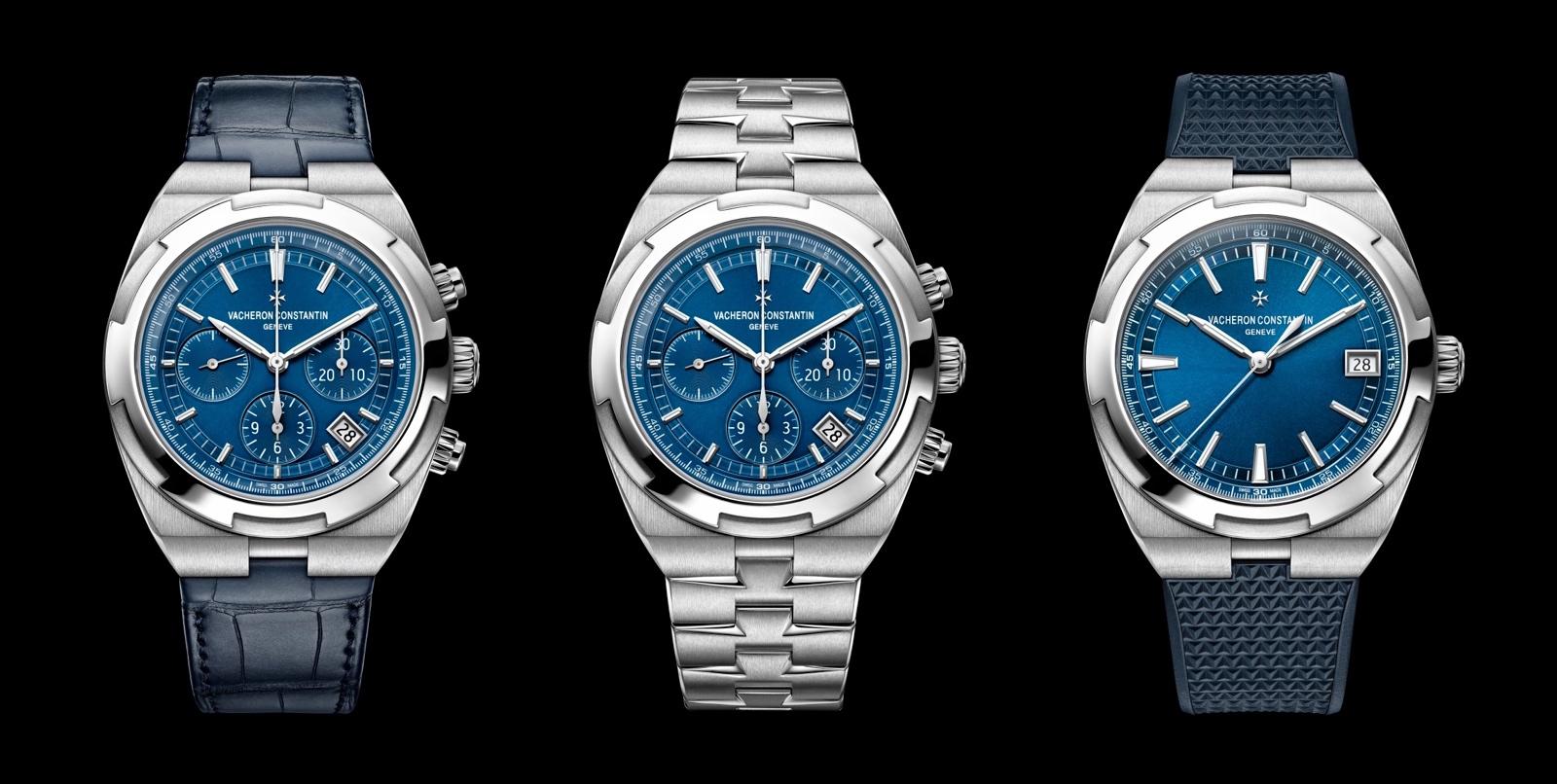 Vacheron Constantin Overseas Calibre 5200 blue trio