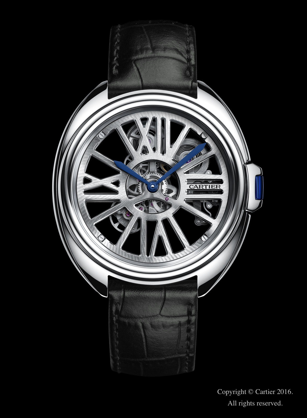 Cartier en el SIHH 2016 - Cle de Cartier Automatic Skeleton