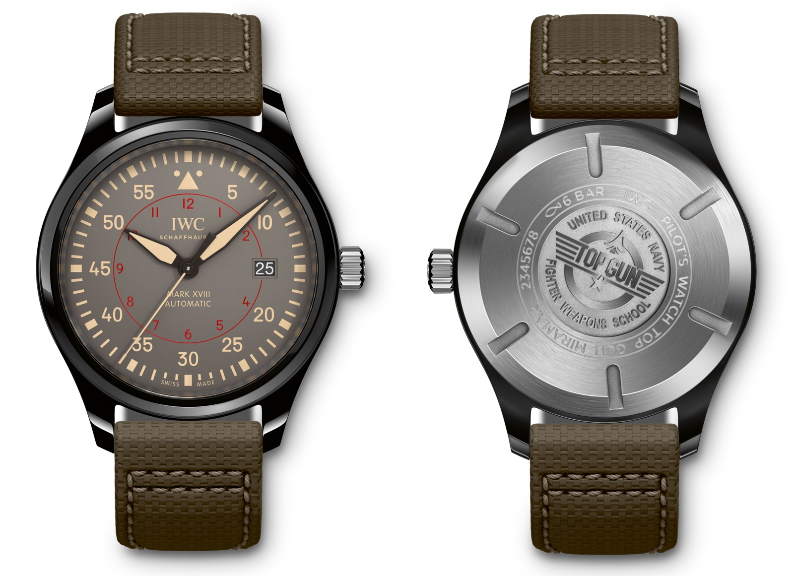 IWC 2016 Pilot Watch Mark XVIII Top Gun Miramar