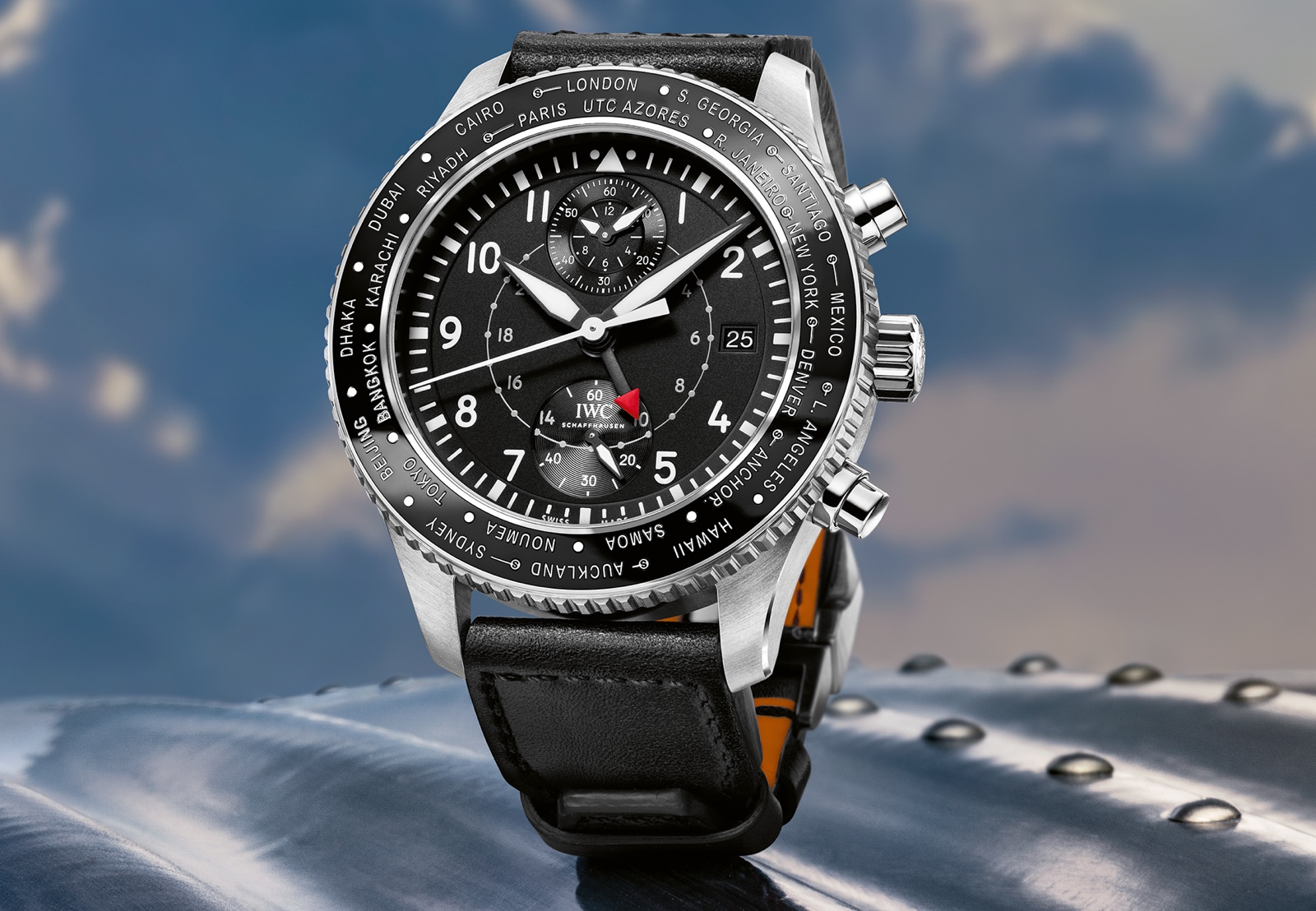 IWC 2016 Pilot Watch Timezoner Chronograph