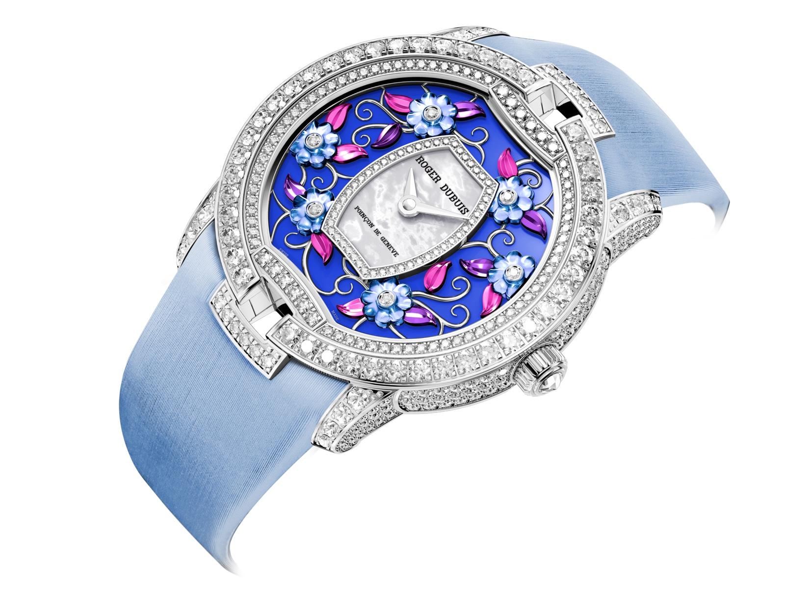 Roger Dubuis Blossom Velvet Blue Unique Piece