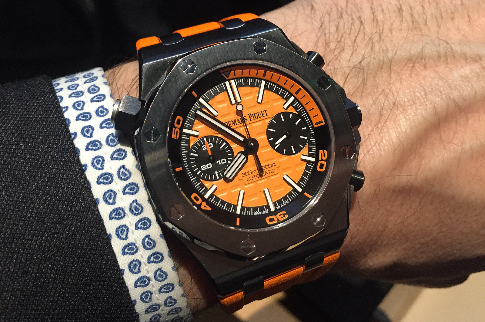 Royal Oak Offshore Diver Chronograph orange