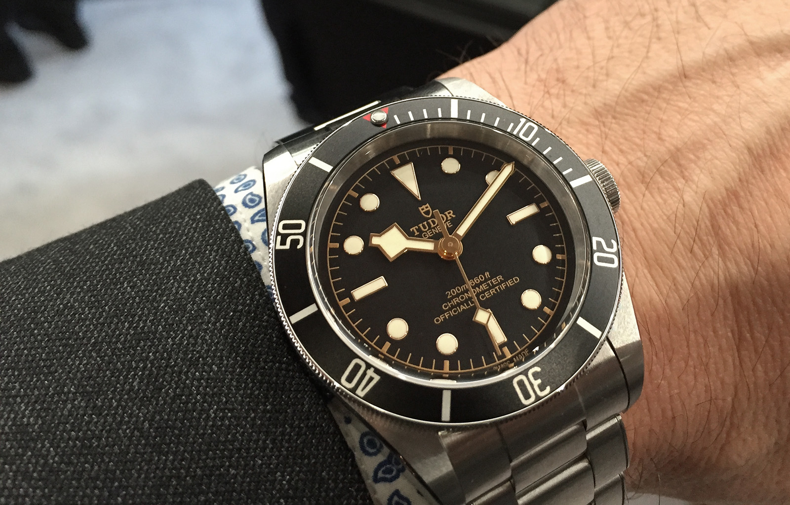 Tudor Black Bay Black 2